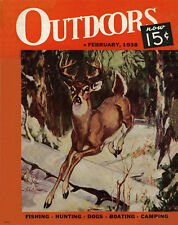 Whitetail Deer Hunting Magazine Poster Art Print Antlers Sheds Bow Arrow MAG32