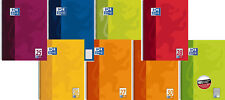 ✍ Collegeblock, Seminar-Block Oxford A4, mit 80 Blatt, verschiedene Lineaturen