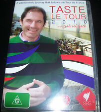 Gabriel Gate Taste Le Tour 2010 (Australia Region 4) SBS DVD - Like New