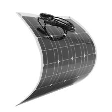 60W 12V Solar Panel Bendable Semi-Flexible Solar Battery Charger with MC4 For RV
