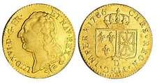 France - Louis XVI - Louis d'or au buste nu - 1786 D (Lyon) 1er sem