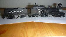 Westside Model Co. HO 4-Truck Shay der O.G.S. & Co.