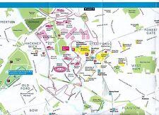 Londra Giochi Olimpici 2012 Estate Souvenir Map