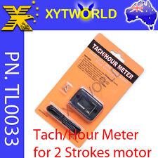 2 Stroke Engine Tacho Hour Meter Kit Motorcycle Dirt Motorised Bicycle Push Bike