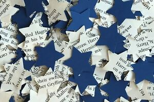 Star Rustic Chic Wedding Table Confetti-Harry Potter/Blue Paper Mix-Ravenclaw