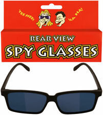Kids Spy Glasses - Rear View Novelty Gadget Mirror Toy Sunglasses Black Children