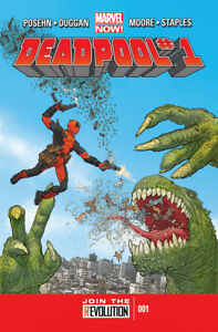 Deadpool (2012) #1 First Edition Bagged & Boarded NM