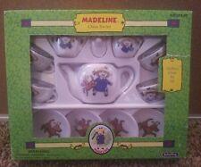 1999 Schylling Madeline 13 Piece China Tea Set