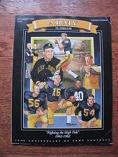 1990 Army Football West Point Military Academy Syracuse College Program NCAA
