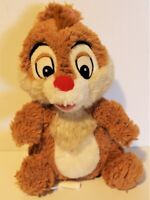 "CHIP Chip & Dale Rescue Rangers 7"" Plush Chipmunk Disney Store Stuffed Animal"