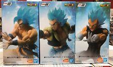 Set Of 3 Banpresto Dragonball Saiyan Super Battle Ichiban Kuji God Son Figure 18