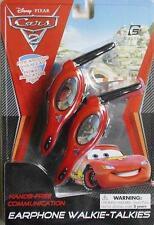 Disney Pixar Cars Earphone Walkie Talkies Wireless Hands Free Headset Toy Age 5+