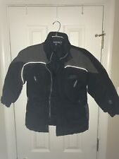 North Sportif Youth Boy's Black Winter Snow Jacket Size 5