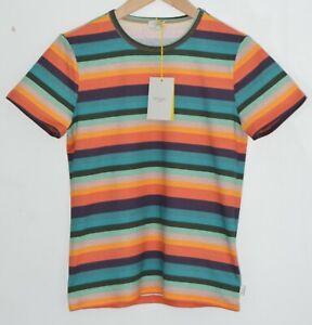PAUL SMITH Artist Stripe Tshirt striped T-shirt Boys Children Junior 12 YEARS