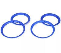 Team Losi Inner & Outer Beadlock Set Blue (4) For LOSI 5IVE-T / Desert Buggy XL