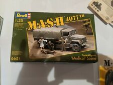 MASH 4077th 4077 Revell Medical Scene
