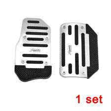 2Pcs Universal Racing Sports Non-Slip Automatic Car Gas Brake Pedals Pad Cover