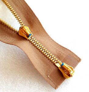 Zip Nougat Divisible 2-Wege Metal Size M4 RIRI Zipper Cipzár Молния