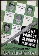Famous Slugger Yearbook 1951 - Vern Stephens, Walt Dropo, Ralph Kiner Cover