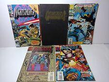 Marvel Nightstalkers Comic Books Lot of 5 Comics from 1993 Midnight Massacre