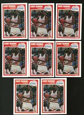 1989 Fleer Danny Manning Rookie Lot 8X Sharp - PSA Ready {00}