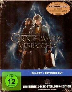 Neu! Phantastische Tierwesen - Grindelwalds Verbrechen - Steelbook - BluRay/OVP!