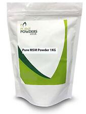*PURE* MSM Powder - Choose 500g or 1KG Methyl Sulfonyl Methane - Joint Care