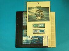 Montserrat 1990 WWF komplettes Kapitel postfrisch MK FDC Delfine (WW161