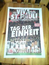 Programm FC St.Pauli - 1 FC Union Berlin 14/15