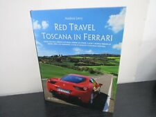 Red Travel Toscana in Ferrari Coffee Table Book  by Andrea. Levy