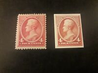 US STAMPS COMBO #215: MINT ORIGINAL GUM (H) along With+PROOF Of Same Stamp($275)