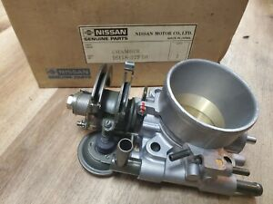 New NOS Genuine Nissan 200SX S12 Silvia Throttle Body Chamber 87 88 MT 6cyl 3.0L