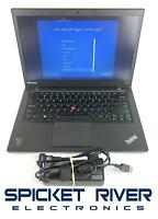 "Lenovo ThinkPad T440S 14"" i5-4300U 1.90GHz 500GB HDD 4GB RAM Win10 Pro #51446"