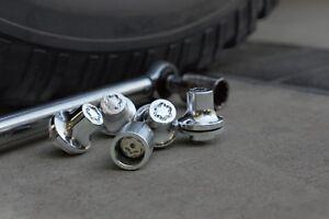 Toyota Land Cruiser 1998 - 2021 Wheel Locks - OEM NEW!