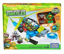Mega Bloks Teenage Mutant Ninja Turtles Half-Shell Heroes Turtle Chopper New