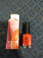 Brand New in Box Sage Cosmetic Nail Polish Lacquer in Red Carnival 408 Full Size