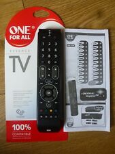 One For All  Essence Universal TV Remote Control URC7110