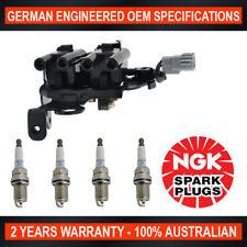 Ignition Coil Pack & 4x NGK Spark Plugs for Hyundai Elantra Kia Cerato Sportage