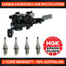 Ignition Coil Pack & 4x NGK Spark Plugs for Hyundai Elantra Kia Cerato Sportage