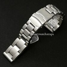 ULTIMATE HEAVY STAINLESS STEEL BRACELET STRAP FOR PANERAI PAM RXW WATCH 24mm