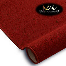 SOFT & CHEAP & QUALITY CARPETS Feltback ETON red Bedroom Large RUG ANY SIZE