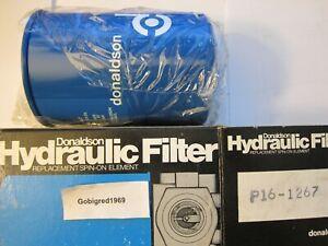 NEW Donaldson Hydraulic Spin On Filter P161267 BT52610 Massey Bobcat Case LG15
