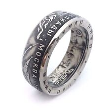 USSR Coin Ring - made from Soviet coin 1 Ruble 1980 - Olympics rings from coins