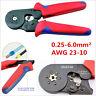1XProfessional Metal HSC8 6-6A Crimpzange Crimper Crimping 0.25 - 6mm² AWG 23-10