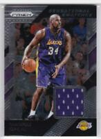 Shaquille O'Neal 2018-19 #49 Panini Prizm Relic Jersey LA Lakers
