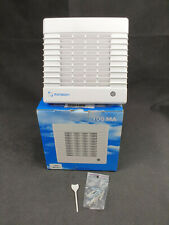 """Monsoon 100mm 4"""" Extractor Fan with Timer & Automatic Shutter MA100-T"""