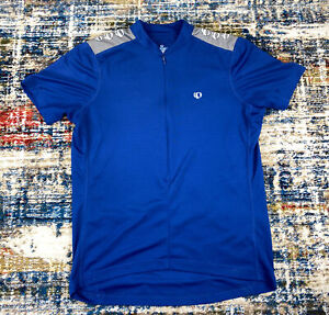 Pearl Izumi Cyclist Jersey Size Large Select Series Blue and Black