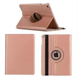 360°Rotating Smart Flip Leather Case Cover For New iPad Air One 2020 Rose Gold