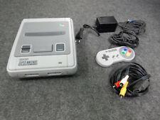 Original Super Nintendo SNES Classic Konsole + Controller + AV Kabel + Netzteil