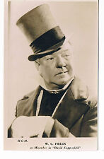W.C Fields - David Copperfield  Vintage Postcard  Inter-War (1918-39), UK M.G.M